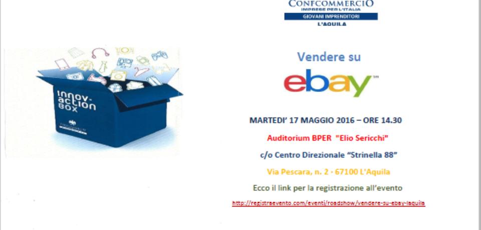 Evento e-bay – L'Aquila 17 maggio 2016