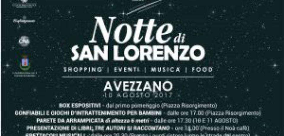 INSIEME PER BRILLARE presenta Notte di San Lorenzo