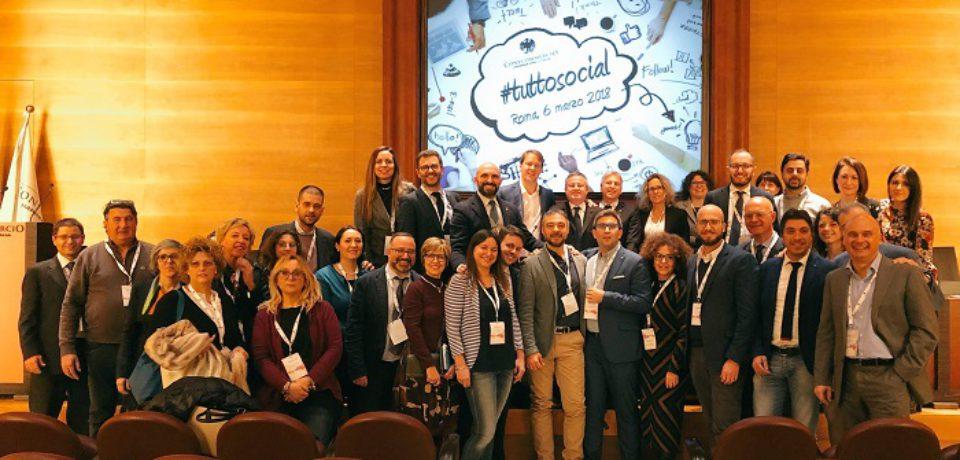 Presentato a Roma il progetto che ha per obiettivo di insegnare a usare i social per fare lobby, comunicazione e marketing, e che si svilupperà nel corso di tutto il 2018 con tappe formative sul territorio.
