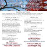 20 ORE DI LEZIONE A DISTANZA ADESIONI ENTRO IL 6 MAGGIO 2020 COSTO € 190,00 IVA COMPRESA